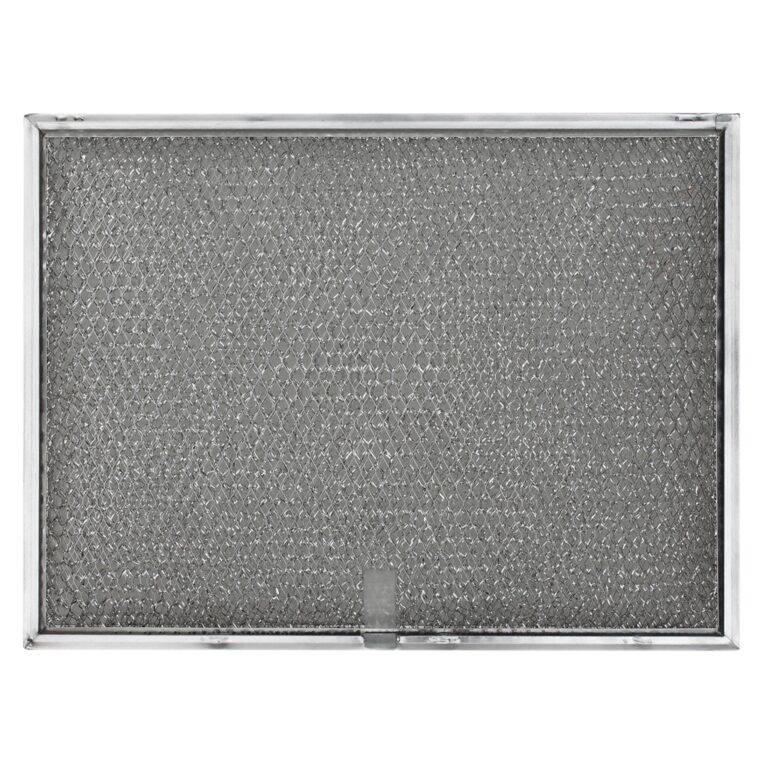 RBF0802 Aluminum Grease Filter   with Pull Tab   Basket Shape 3/8″