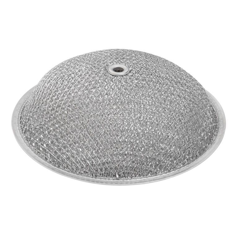RDF0903 Aluminum Grease Filter for Ducted Range Hood or Microwave Oven   9-1/2″ Round X 3/32″   D2-3/8″   with Grommet Hole