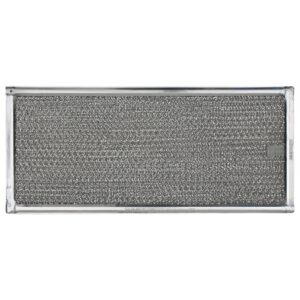 RHF0525 Aluminum Grease Filter for Ducted Range Hood or Microwave Oven | with Pull Tab