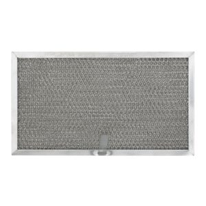 RHF0608 Aluminum Grease Filter for Ducted Range Hood or Microwave Oven   with Pull Tab
