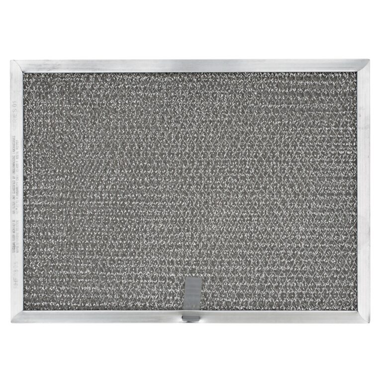 RHF0805 Aluminum Grease Filter for Ducted Range Hood or Microwave Oven | with Pull Tab