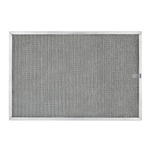 RHF1124 Aluminum Grease Filter for Ducted Range Hood or Microwave Oven | with Pull Tab