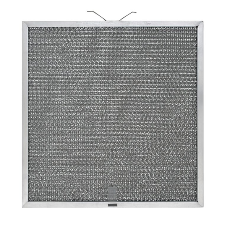 RHF1144 Aluminum Grease Filter for Ducted Range Hood or Microwave Oven   with 1 Pull Tab   1 Tension Spring and 2 Slots
