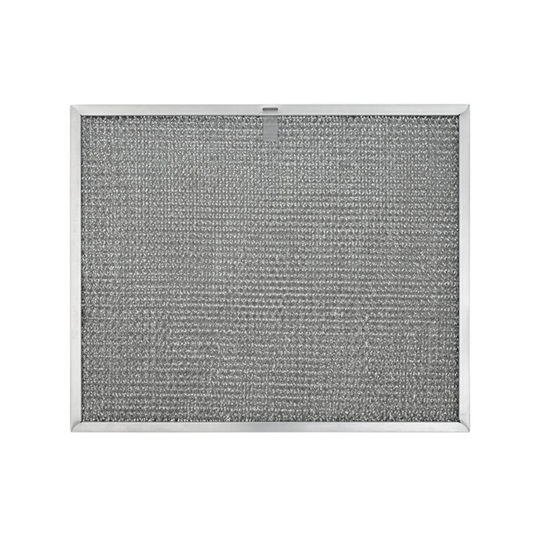RHF1145 Aluminum Grease Filter for Ducted Range Hood or Microwave Oven | with 1 Pull Tab and 2 Slots