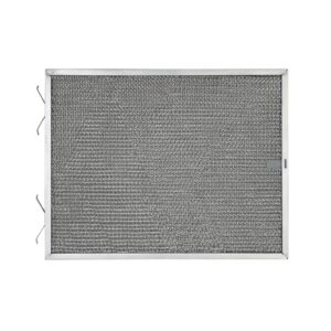 RHF1188 Aluminum Grease Filter for Ducted Range Hood or Microwave Oven | with 1 Pull Tab and 2 Tension Springs