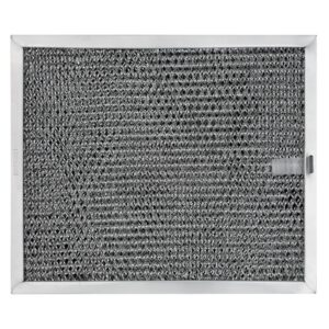 RHP0801 Aluminum/Carbon Grease and Odor Filter for Non-Ducted Range Hood or Microwave Oven | with Pull Tab