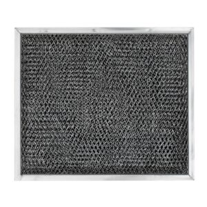 RHP0808 Aluminum/Carbon Grease and Odor Filter for Non-Ducted Range Hood or Microwave Oven | Basket 1/2″