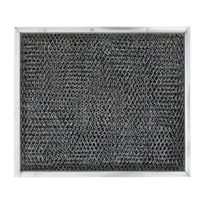 RHP0808 Aluminum/Carbon Grease and Odor Filter for Non-Ducted Range Hood or Microwave Oven   Basket 1/2″