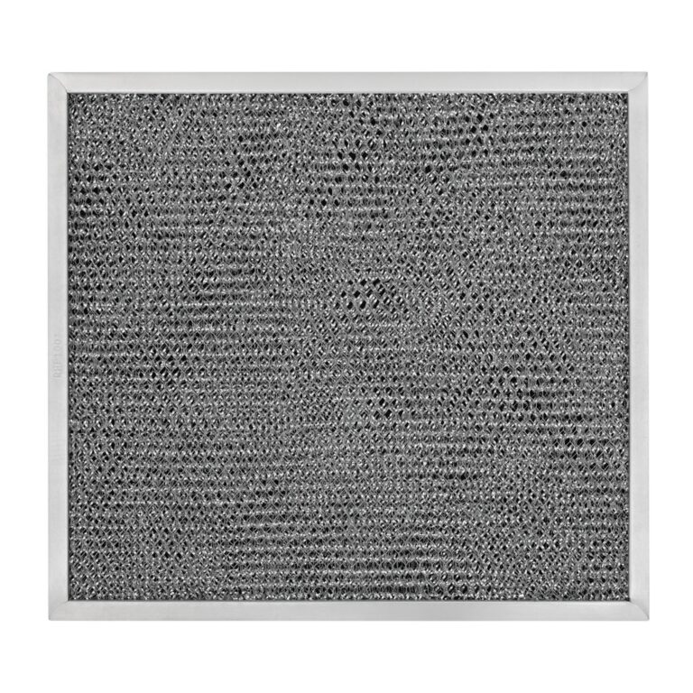 RHP1001 Aluminum/Carbon Grease and Odor Filter for Non-Ducted Range Hood or Microwave Oven
