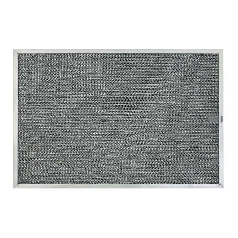 RHP1102 Aluminum/Carbon Grease and Odor Filter for Non-Ducted Range Hood or Microwave Oven | with Pull Tab