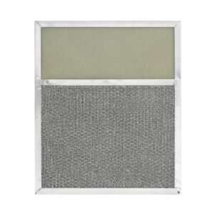 RLF1001 Aluminum Grease Filter with Light Lens for Ducted Range Hood | 4″ Lens