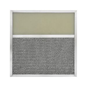 RLF1004 Aluminum Grease Filter with Light Lens for Ducted Range Hood | 4″ Lens