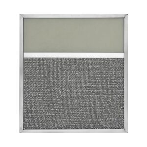 RLF1006 Aluminum Grease Filter with Light Lens for Ducted Range Hood | 4″ Lens