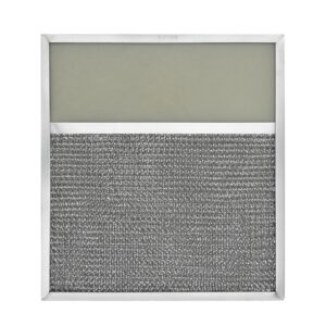 RLF1016 Aluminum Grease Filter with Light Lens for Ducted Range Hood   4″ Lens