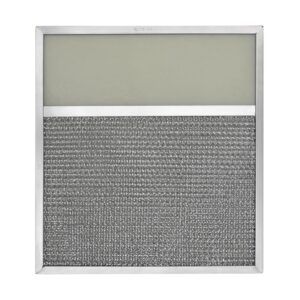 RLF1109 Aluminum Grease Filter with Light Lens for Ducted Range Hood | 4″ Lens