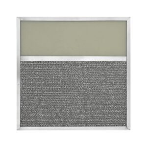 RLF1146 Aluminum Grease Filter with Light Lens for Ducted Range Hood   4″ Lens