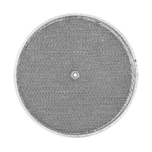 RRF1002 Aluminum Grease Filter for Ducted Range Hood  10-1/2″ Round  X 3/32″   with Grommet Hole