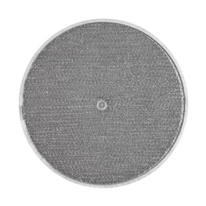 RRF1102 Aluminum Grease Filter for Ducted Range Hood  11-1/2″ Round  X 3/32″   with Grommet Hole