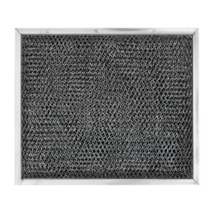 GE WB02X10700 Aluminum/Carbon Grease & Odor Range Hood Filter Replacement