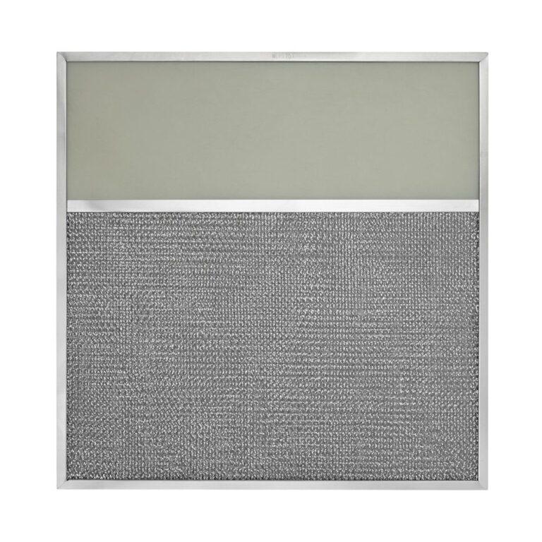 GE WB2X7358 Aluminum Grease Range Hood Filter Replacement