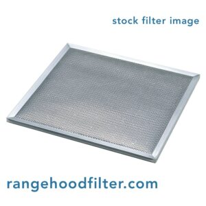 Custom Aluminum and Carbon Combination Grease and Odor Filter for Range Hood or Microwave