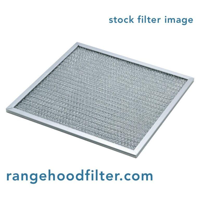 Whirlpool 4396389 Aluminum Grease Range Hood Filter Replacement