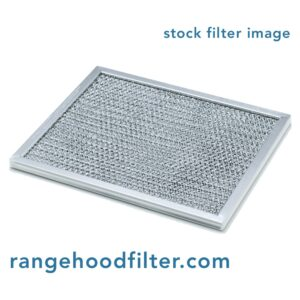 RHP0604 Aluminum/Carbon Grease and Odor Filter for Non-Ducted Range Hood or Microwave Oven