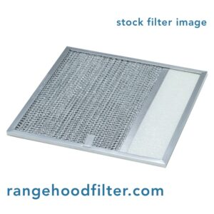 Rangaire 610049 Aluminum Grease Range Hood Filter Replacement Fits Rangaire Models 210, 220, PM22-140, PM25-140, 90026WH, PM25-100