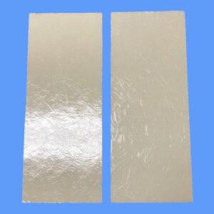 2-PACK KitchenAire Range Hood Lens Material, 3″x7″, Cut-to-Fit All KitchenAire Range Hood Models